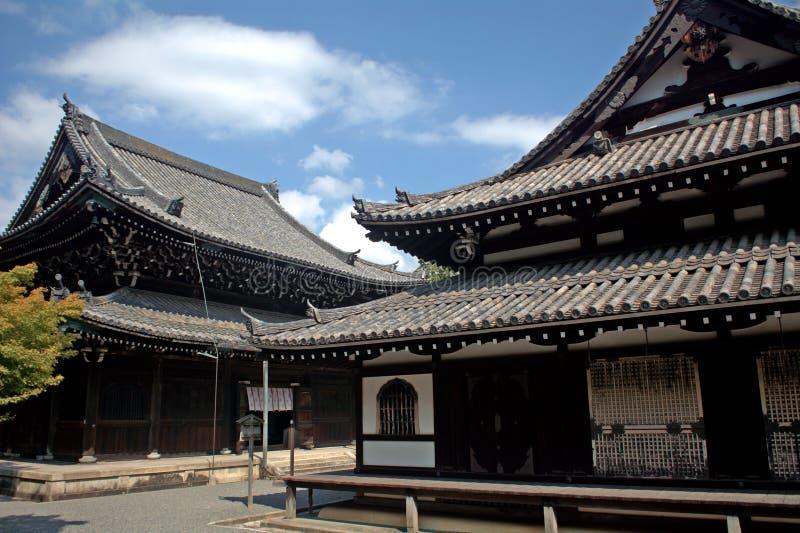 Temple de Sennyu, Kyoto, Japon images libres de droits
