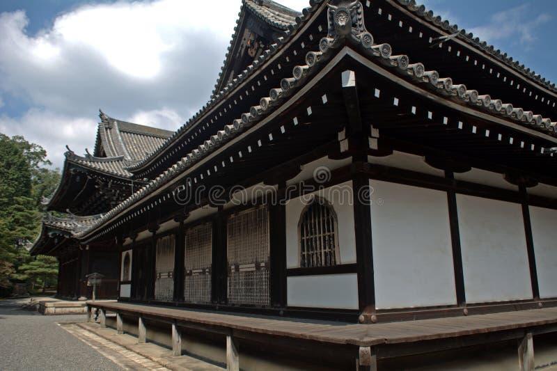 Temple de Sennyu, Kyoto, Japon photographie stock