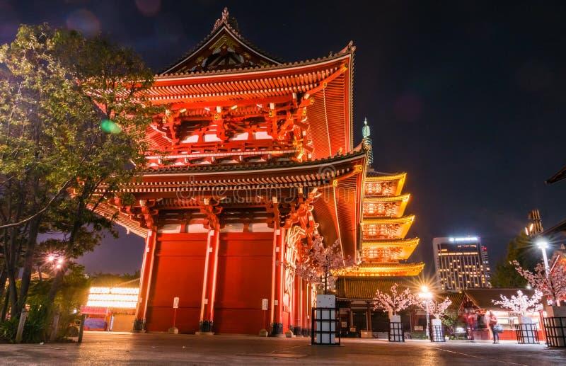 Download Temple de Senso-JI image éditorial. Image du bleu, vieux - 76089985