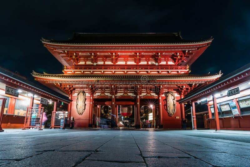 Download Temple de Senso-JI photographie éditorial. Image du rouge - 76090082