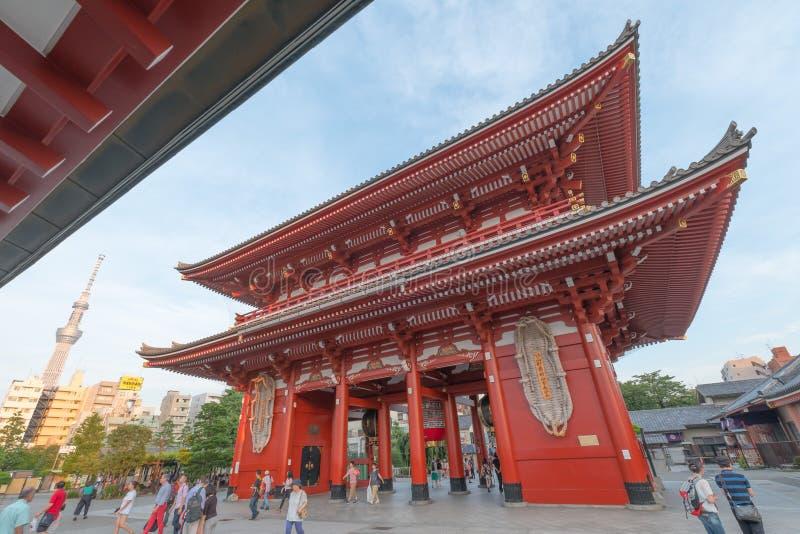 Download Temple de Sensoji image stock éditorial. Image du bouddhisme - 76077644