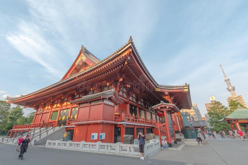 Download Temple de Sensoji photographie éditorial. Image du oriental - 76077687