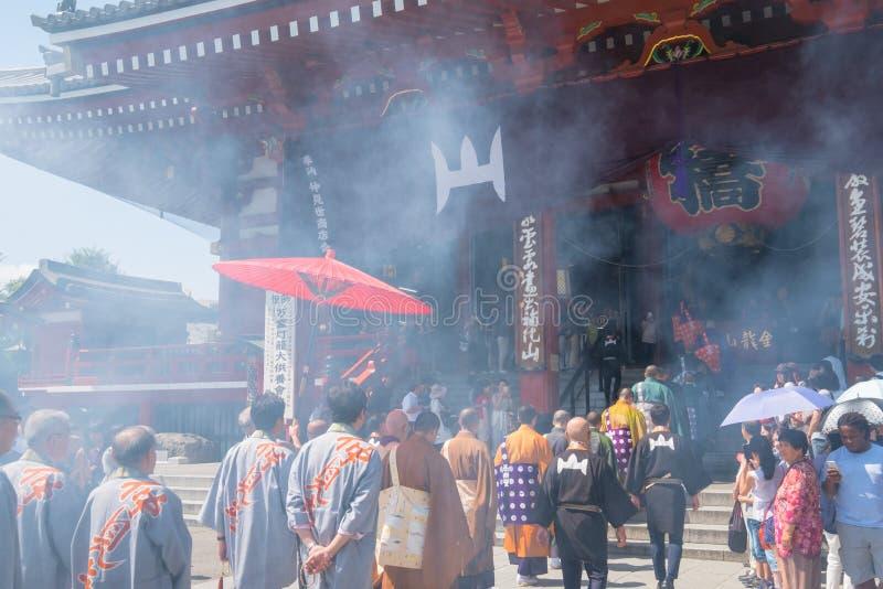 Download Temple de Sensoji image stock éditorial. Image du construction - 76077694