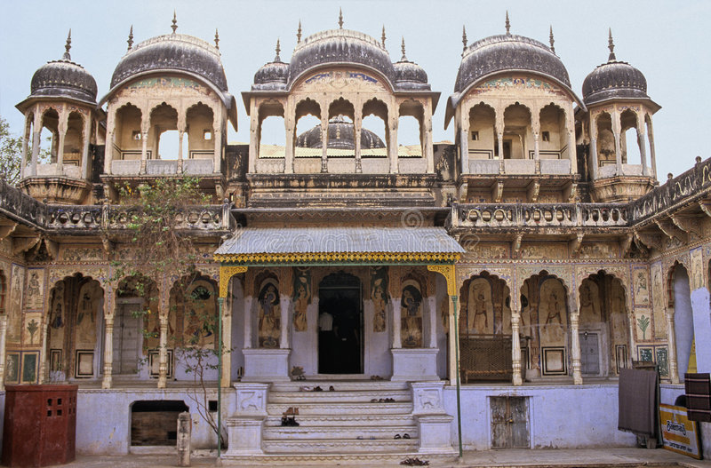 Temple de Shekhawati photo libre de droits