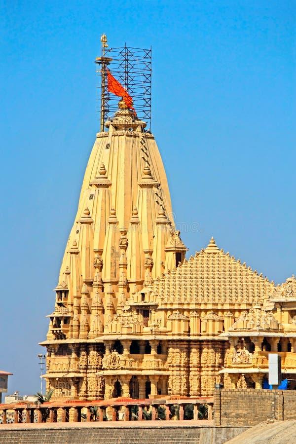 Temple de Shiva Somnath photo stock