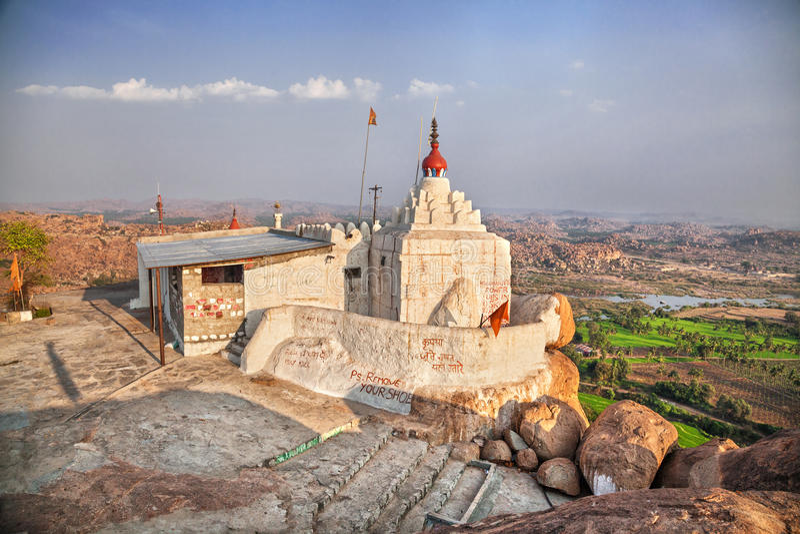 Temple de singe de Hanuman images libres de droits