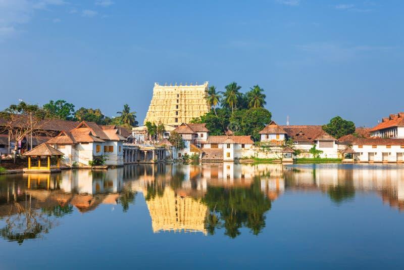 Temple de Sri Padmanabhaswamy dans l'Inde de Trivandrum Kerala photos libres de droits