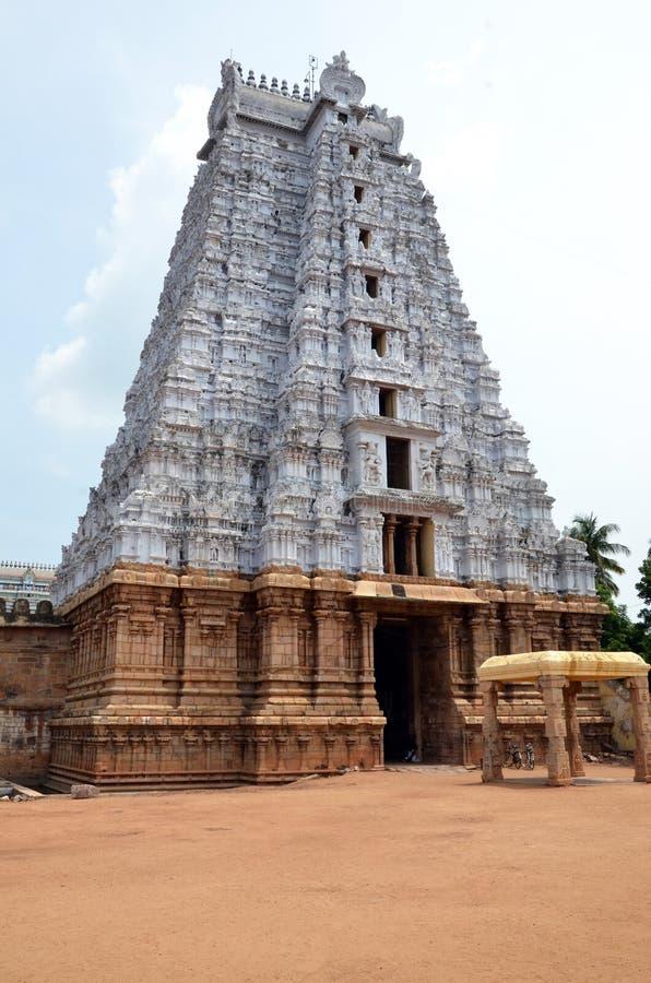 Temple de Sri Ranganathaswamy   image stock