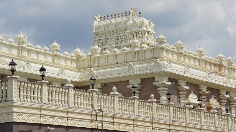 Temple de Sri Venkateswara dans Bridgewater, New Jersey photographie stock