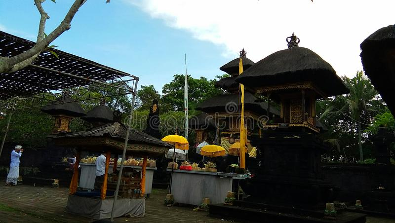 Temple de Srijong, Tabanan Bali photo libre de droits