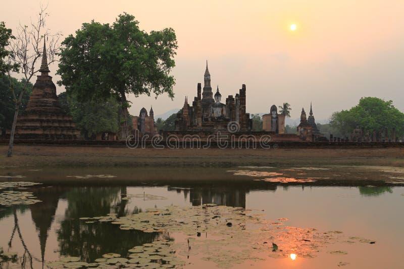 Temple de Sukhothai photo libre de droits