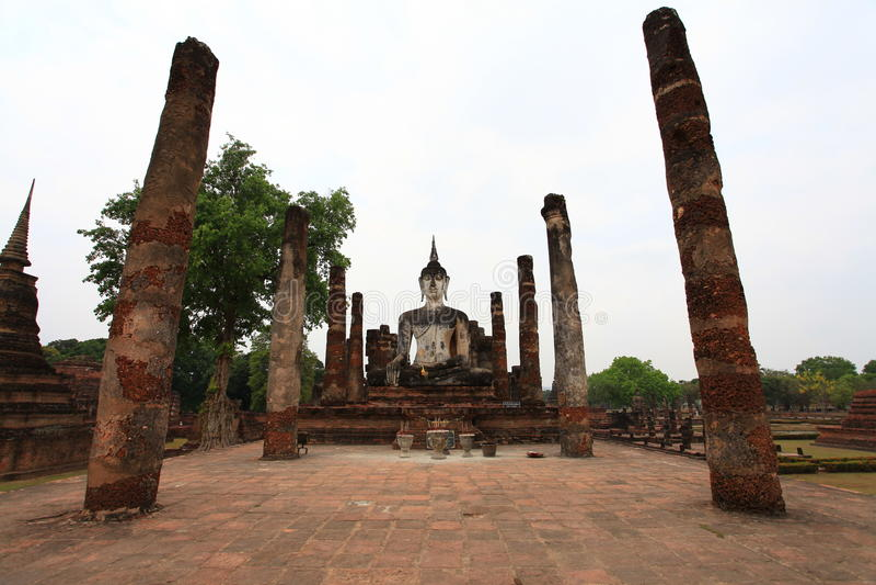 Temple de Sukhothai photos stock