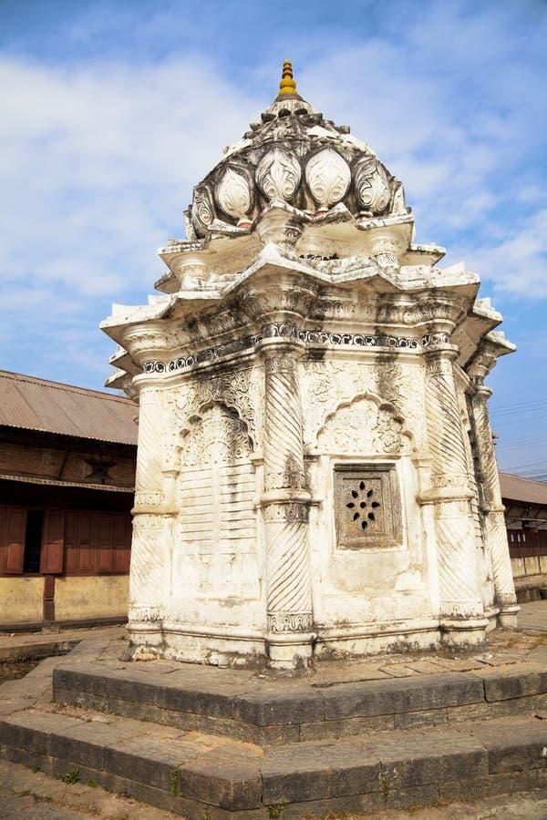 Temple de Thapathali, Katmandou, Népal images libres de droits