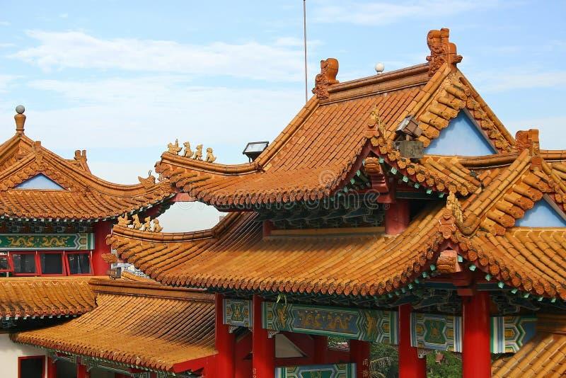 Temple De Thean Hou Photo libre de droits