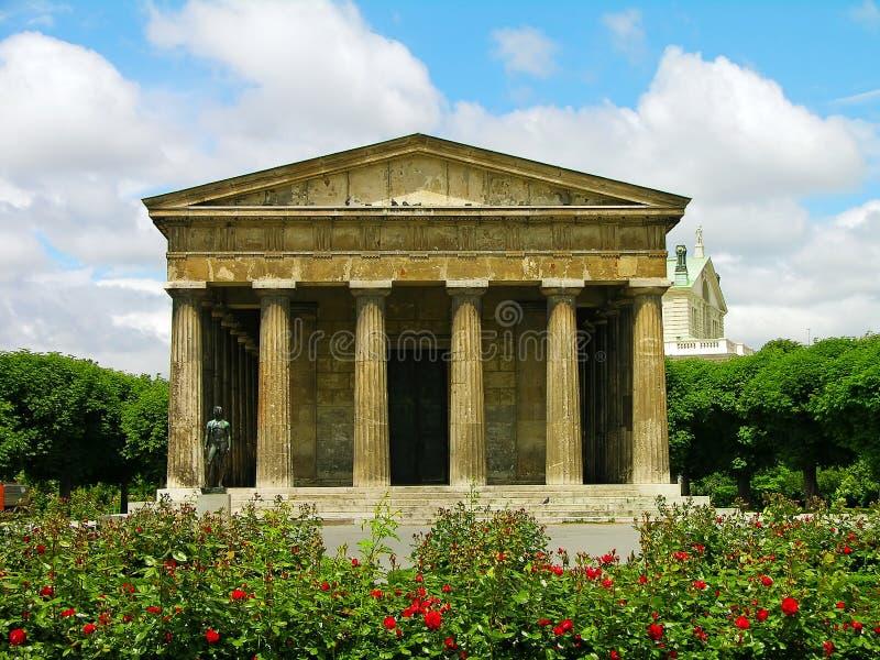 Temple de Theseus dans Volksgarten, Vienne image libre de droits