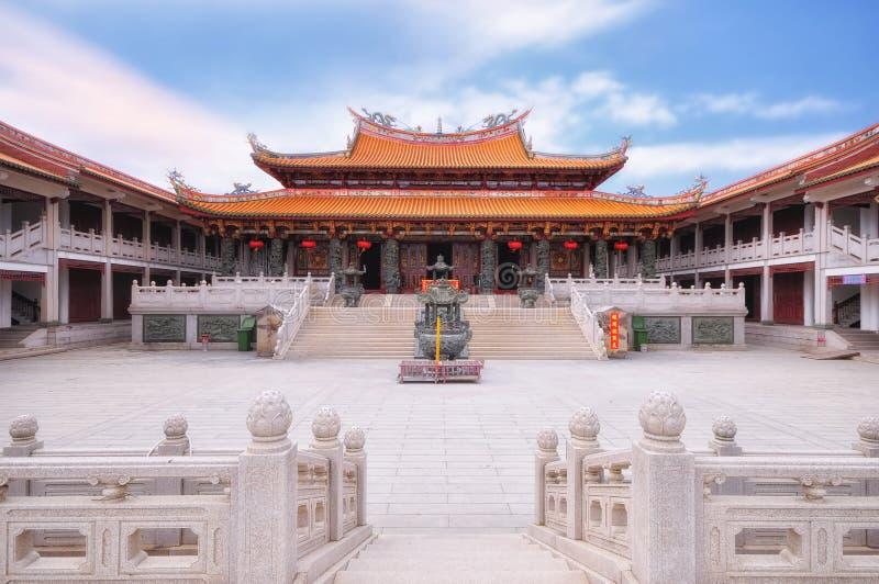 Temple de Tian Hou dans Macao images libres de droits