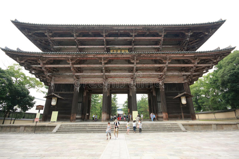 Temple de Todaiji à Nara, Japon photos stock