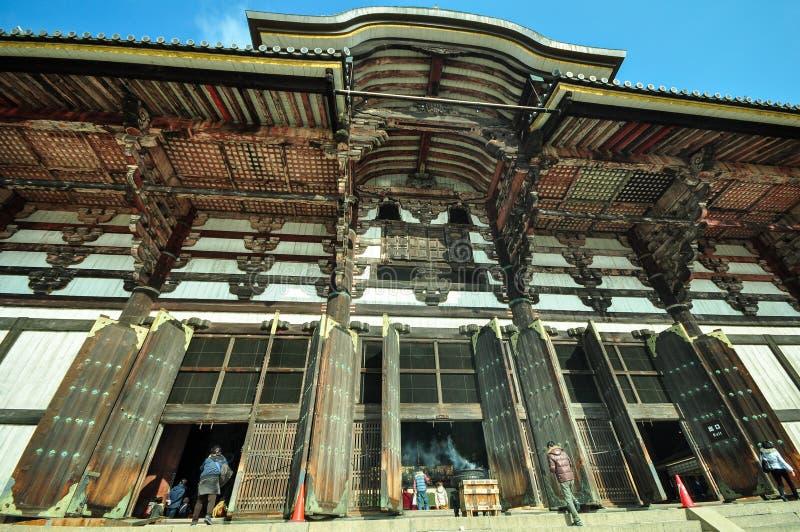 Temple de Todaiji à Nara, Japon photographie stock