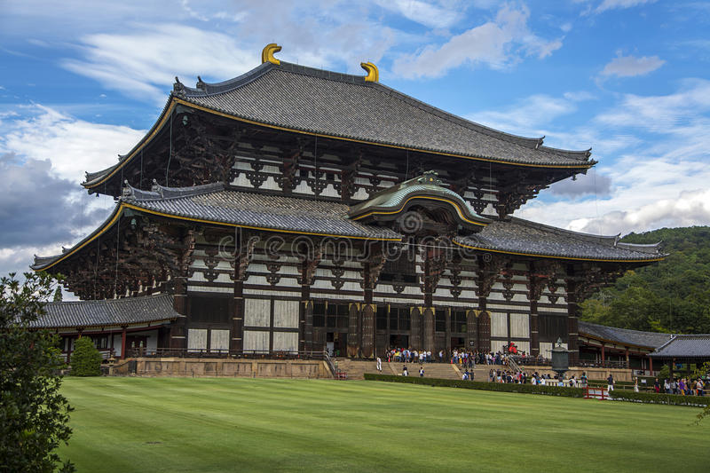 Temple de Todaiji à Nara, Japon photographie stock libre de droits