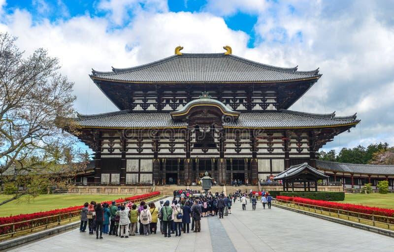 Temple de Todaiji en Nara Prefecture, Japon photo stock