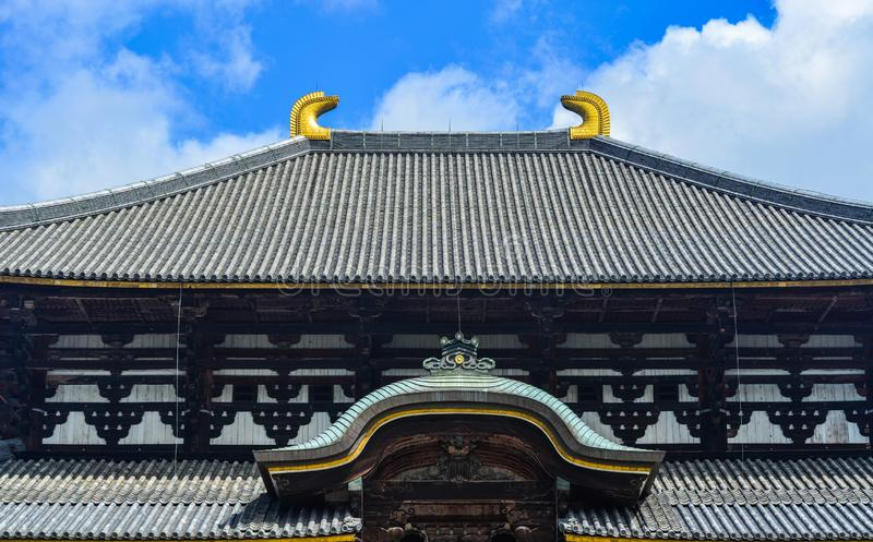 Temple de Todaiji en Nara Prefecture, Japon photo libre de droits