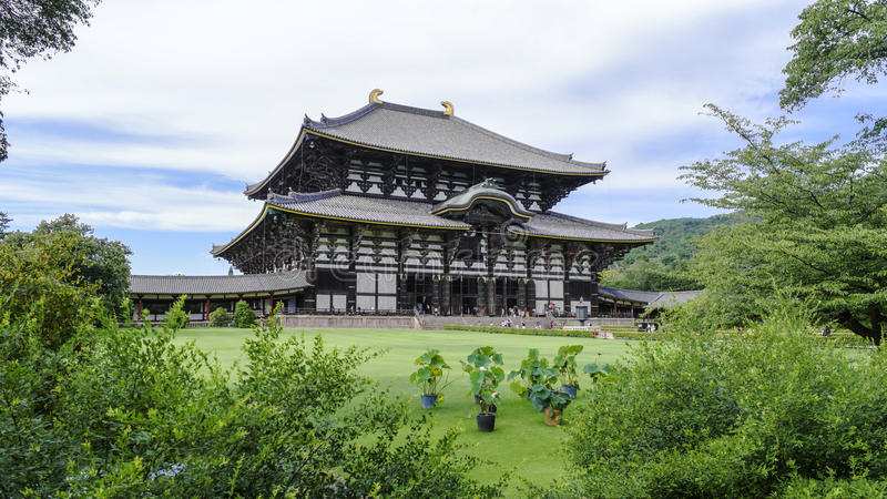 Temple de Todaiji - Nara - Japon photo libre de droits