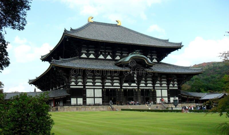Temple de Todaiji, Nara, Japon photographie stock libre de droits