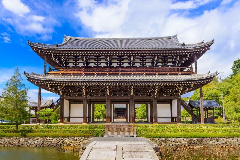 Temple de Tofukuji à Kyoto photographie stock libre de droits