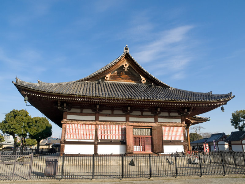 Temple de Toji photographie stock