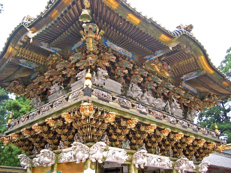 Temple de Toshogu images libres de droits