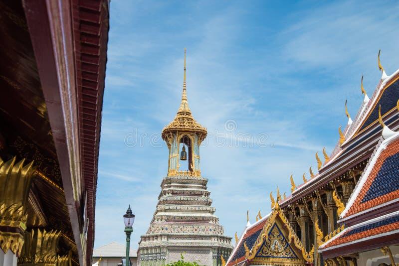 Temple de tour de Bell à Bangkok image stock