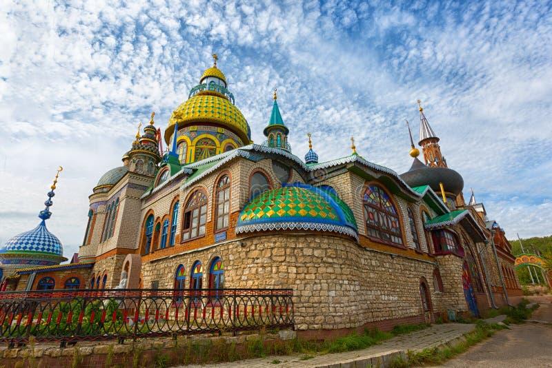 Temple de toutes les religions image stock