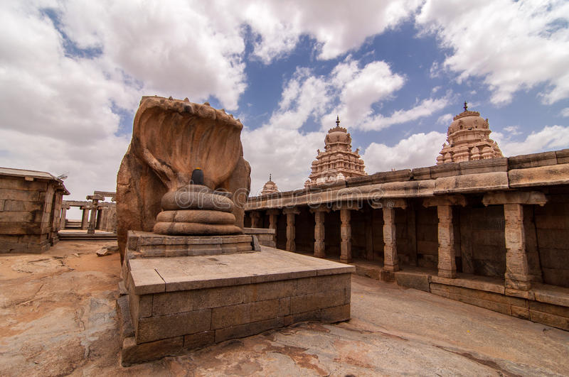 Temple de Veerabhadra Swamy chez Lepakshi photos libres de droits