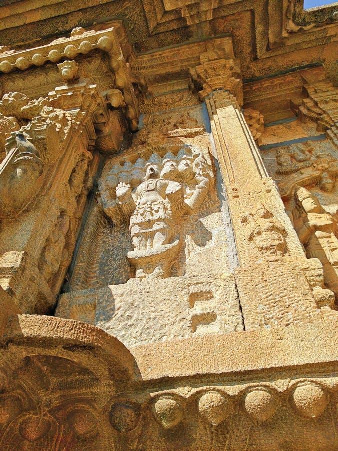 Temple de Vidyashankara à Sringeri photographie stock libre de droits