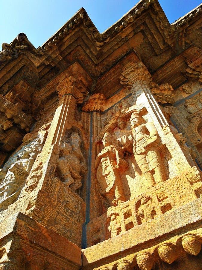 Temple de Vidyashankara à Sringeri photos libres de droits