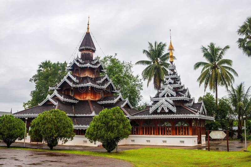 Temple de Wat Hua Wiang image stock
