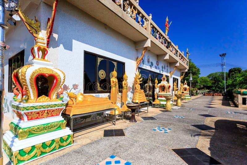 Temple de Wat Khao Rang au matin Phuket thailand photographie stock