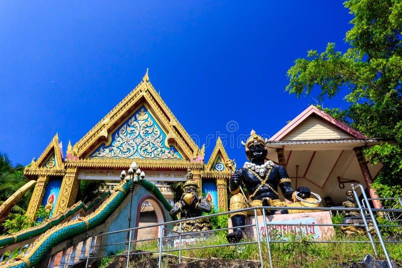 Temple de Wat Khao Rang au matin Phuket thailand photos libres de droits