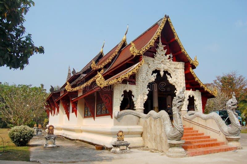 Temple de Wat Phaya Wat à Nan, Thaïlande photos stock