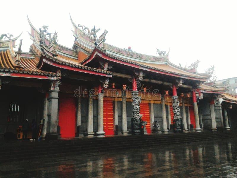 Temple de Xintian image libre de droits