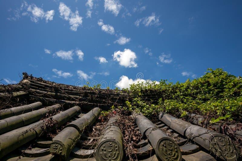 Temple de Yeosu Heungguk images libres de droits