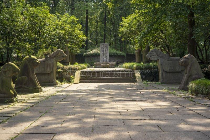 Temple de Yu Qian ? Hangzhou images stock