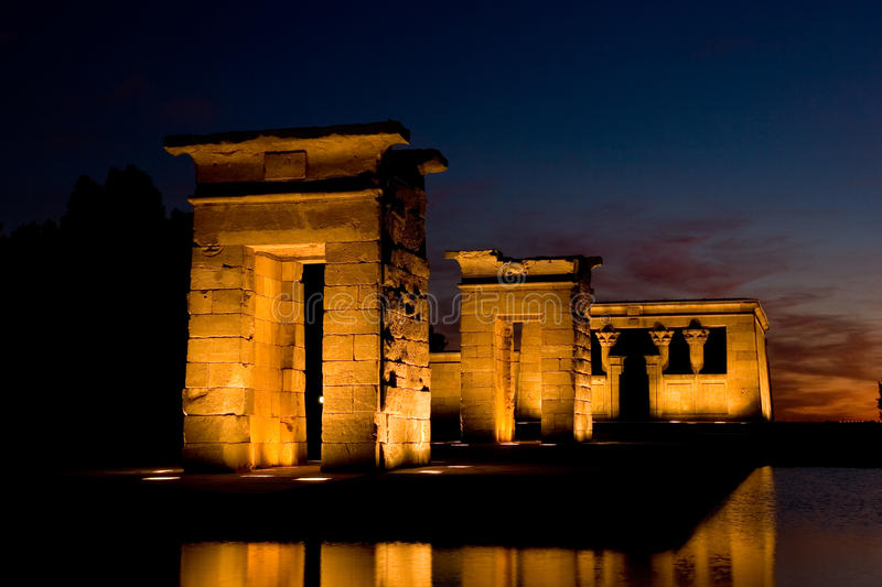 Download Temple of Debod stock photo. Image of center, madrid - 15984490