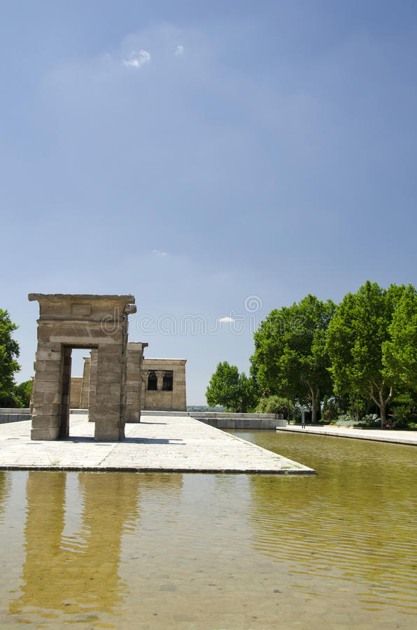 Download Temple of Debod stock photo. Image of ruin, culture, history - 25954962