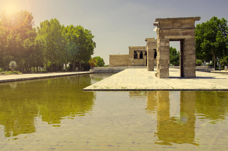 Download The Temple Of Debod, Madrid Stock Image - Image: 30618885