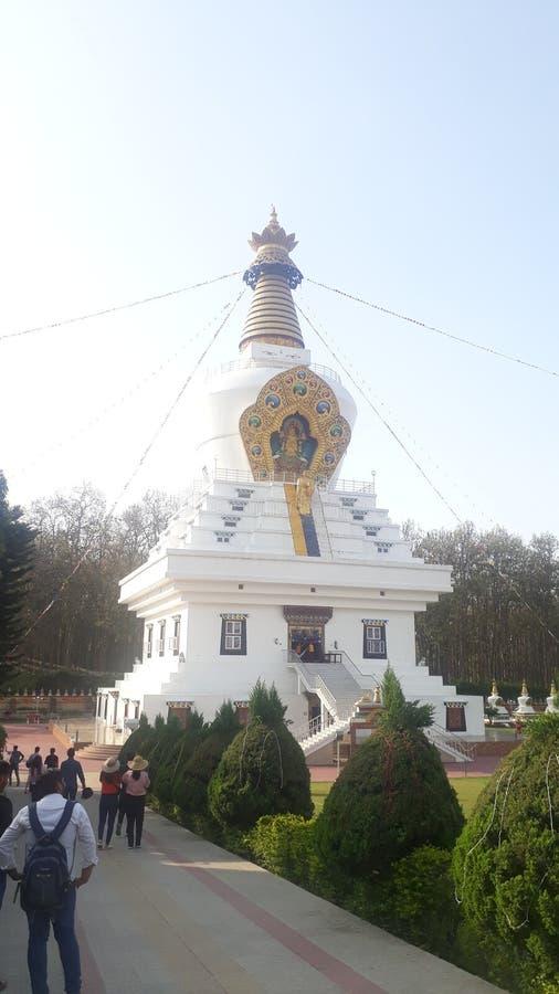 Temple in dehradun stock photography