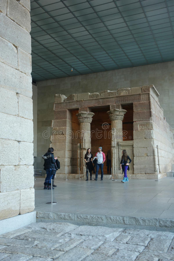 Temple of Dendur stock photos