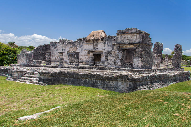 Download Temple Of The Descending God Tulum Mexico Stock Image - Image: 25508805