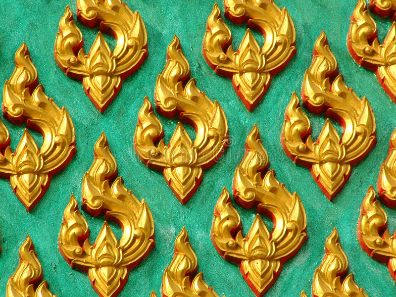 Download Temple detail stock photo. Image of decorative, gold, pattern - 112228