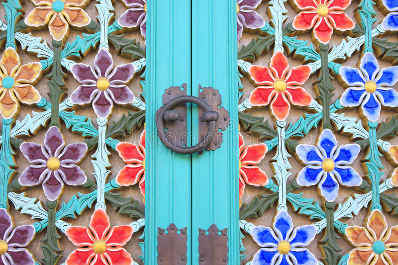 Temple Door royalty free stock image
